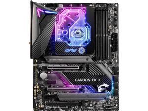MSI MPG Z490 CARBON EK X LGA 1200 Intel Z490 SATA 6Gb/s ATX Intel Motherboard