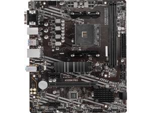 MSI A520M PRO AM4 AMD A520 SATA 6Gb/s Micro ATX AMD Motherboard