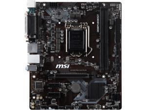 MSI PRO H310M PRO-VLH PLUS LGA 1151 (300 Series) Intel H310 SATA 6Gb/s Micro ATX Intel Motherboard