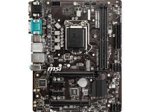 MSI PRO H410M PRO-C LGA 1200 Intel H410 SATA 6Gb/s Micro ATX Intel Motherboard