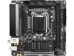MSI H510I PRO WIFI LGA 1200 Intel H510 SATA 6Gb/s Mini ITX Intel Motherboard