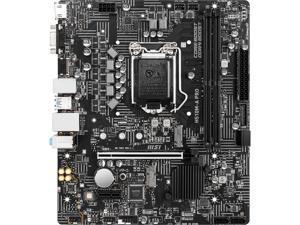 MSI H510M-A PRO LGA 1200 Intel H510 SATA 6Gb/s Micro ATX Intel Motherboard