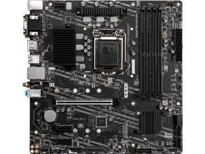 MSI B460M PRO-VDH WIFI LGA 1200 Intel B460 SATA 6Gb/s Micro ATX Intel Motherboard