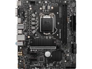 MSI PRO B560M PRO LGA 1200 Intel B560 SATA 6Gb/s Micro ATX Intel Motherboard