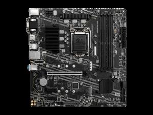 MSI B460M PRO-VDH LGA 1200 Intel B460 SATA 6Gb/s Micro ATX Intel Motherboard