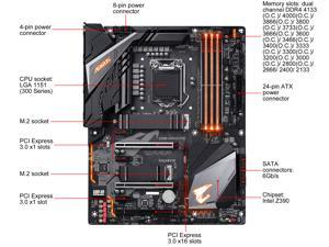 GIGABYTE Z390 AORUS PRO LGA 1151 (300 Series) Intel Z390 HDMI SATA 6Gb/s USB 3.1 ATX Intel Motherboard