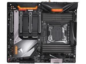 GIGABYTE X299X AORUS MASTER LGA 2066 Intel X299 SATA 6Gb/s Extended ATX Intel Motherboard