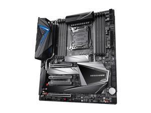 GIGABYTE X299X DESIGNARE 10G LGA 2066 Intel X299 SATA 6Gb/s Extended ATX Intel Motherboard