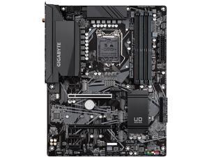 GIGABYTE Z490 UD AC LGA 1200 Intel Z490 ATX Motherboard with Dual M.2, SATA 6Gb/s, USB 3.2 Gen 2, Intel 802.11ac