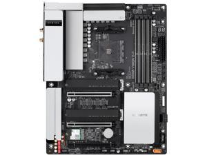 GIGABYTE B550 VISION D-P AM4 AMD B550 ATX Motherboard with Dual M.2, SATA 6Gb/s, USB 3.2 Type-C with Thunderbolt 3, WIFI 6, Dual 2.5GbE LAN, PCIe 4.0