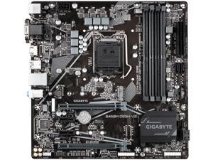 GIGABYTE B460M DS3H V2 (rev 1.0) LGA 1200 Intel B460 Micro-ATX Motherboard with M.2, SATA 6Gb/s, USB 3.2 Gen 1