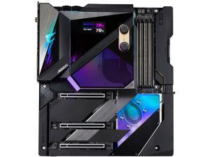 GIGABYTE Z590 AORUS XTREME WATERFORCE (Z590 AORUS XTREME WB) LGA 1200 Intel Z590 Extended ATX Motherboard with Triple M.2, PCIe 4.0, Intel WIFI 6E, 2.5GbE LAN, AQUANTIA 10GbE BASE-T LAN