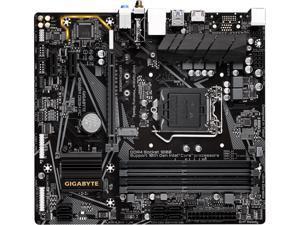 GIGABYTE B460M DS3H AC-Y1 LGA 1200 Intel B460 SATA 6Gb/s Micro ATX Intel Motherboard