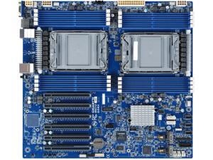 GIGABYTE MD72-HB1 Extended ATX Server Motherboard Dual Socket P+ Intel C621A
