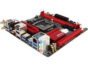 ASRock ASRock Fatal1ty Gaming Z170 Gaming-ITX/ac LGA 1151 Intel Z170 HDMI SATA 6Gb/s USB 3.1 USB 3.0 Mini ITX Intel Motherboard