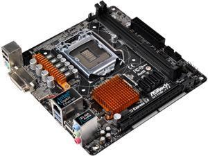 ASRock H110M-ITX LGA 1151 Intel H110 HDMI SATA 6Gb/s USB 3.0 Mini ITX Intel Motherboard
