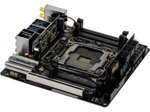 ASRock X299E-ITX/AC LGA 2066 Intel X299 SATA 6Gb/s USB 3.1 Mini ITX Intel Motherboard