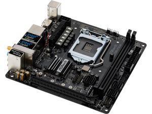 ASRock Z370M-ITX/ac LGA 1151 (300 Series) Intel Z370 HDMI SATA 6Gb/s USB 3.1 Mini ITX Intel Motherboard