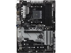 ASRock B450 PRO4 AM4 AMD Promontory B450 SATA 6Gb/s ATX AMD Motherboard