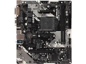 ASRock A320M-HDV R4.0 AM4 AMD Promontory A320 SATA 6Gb/s Micro ATX AMD Motherboard
