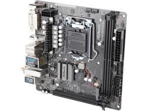 ASRock H310CM-ITX/ac LGA 1151 (300 Series) Intel H310 SATA 6Gb/s Mini ITX Intel Motherboard