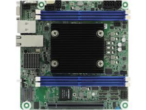 AsRock Rack D2143D4I2-2T Mini-ITX Server Motherboard Intel Xeon D-2100 Series 8 core SOC