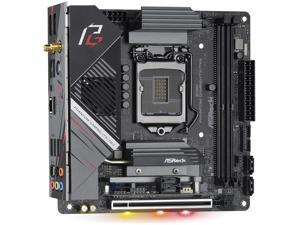 ASRock Z490 Phantom Gaming-ITX/TB3 LGA 1200 Intel Z490 SATA 6Gb/s Mini ITX Intel Motherboard