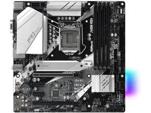 ASRock Z490M Pro4 LGA 1200 Intel Z490 SATA 6Gb/s Micro ATX Intel Motherboard
