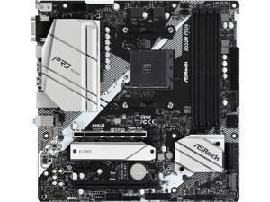ASRock B550M PRO4 AM4 AMD B550 SATA 6Gb/s Micro ATX AMD Motherboard