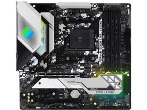ASRock B550M STEEL LEGEND Micro ATX AMD Motherboard