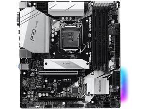 ASRock B460M PRO4 LGA 1200 Intel B460 SATA 6Gb/s Micro ATX Intel Motherboard