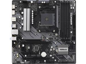 ASRock B550M Phantom Gaming 4 AM4 AMD B550 SATA 6Gb/s Micro ATX AMD Motherboard