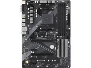 ASRock B450 PRO4 R2.0 AM4 AMD Promontory B450 SATA 6Gb/s ATX AMD Motherboard