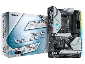 ASRock Z590 STEEL LEGEND LGA 1200 Intel Z590 SATA 6Gb/s ATX Intel Motherboard