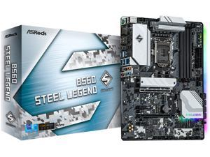 ASRock B560 Steel Legend LGA 1200 Intel B560 SATA 6Gb/s ATX Intel Motherboard
