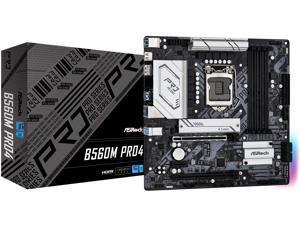 ASRock B560M PRO4 LGA 1200 Intel B560 SATA 6Gb/s Micro ATX Intel Motherboard