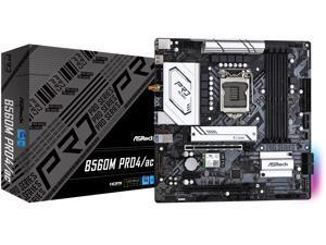 ASRock B560M PRO4/AC LGA 1200 Intel B560 SATA 6Gb/s Micro ATX Intel Motherboard