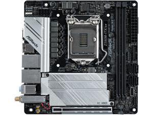 ASRock Z590M-ITX/AX LGA 1200 Intel Z590 SATA 6Gb/s Mini ITX Intel Motherboard