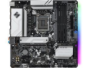 ASRock B560M STEEL LEGEND LGA 1200 Intel B560 SATA 6Gb/s Micro ATX Intel Motherboard