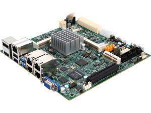 SUPERMICRO MBD-X11SBA-LN4F-O Mini ITX Server Motherboard Socket FCBGA1170 Intel N3700 1600 / 1333 / 1066 MHz DDR3 SO-DIMM, 204-pin gold-plated DIMMs