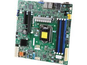SUPERMICRO MBD-X11SCH-LN4F-O Micro ATX Server Motherboard LGA 1151 Intel C246