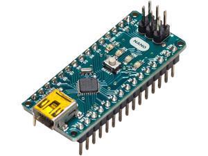 Arduino Nano Development Board ATmega328 MCU, 14 3.3V I/O, 6 PWM Outputs, USB Mini B