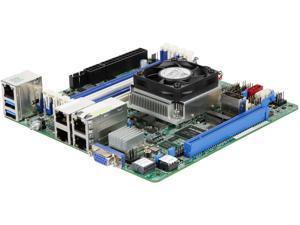ASRock Rack D1541D4I-2L2T Server Motherboard Mini ITX Intel Xeon D1541 DDR4 ECC DIMM 10 GLAN