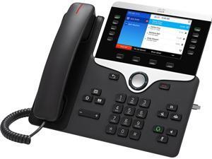 Cisco 8841 IP Phone - Wall Mountable, Desktop - Charcoal Gray - 5 x Total Line - VoIP - Caller ID -