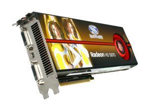 SAPPHIRE Radeon HD 5970 (Hemlock) 2GB GDDR5 PCI Express 2.1 x16 CrossFireX Support Video Card 100280SR