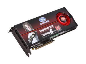 SAPPHIRE Radeon HD 5870 (Cypress XT) 2GB GDDR5 PCI Express 2.1 x16 CrossFireX Support Eyefinity 6 Edition Video Card 100290SR