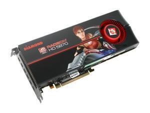 DIAMOND Radeon HD 5870 DirectX 11 5870PE52GOC 2GB 256-Bit GDDR5 PCI Express 2.0 x16 CrossFireX Support Eyefinity 6 Edition Video Card