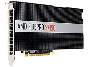 AMD FirePro S7150 100-505929 8GB 256-bit GDDR5 PCI Express 3.0 x16 Full height / Full length Video Cards - Workstation