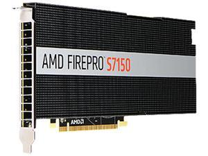 AMD FirePro S7150 100-505721 8GB 256-bit GDDR5 PCI Express 3.0 x16 Full height / Full length Video Cards - Workstation