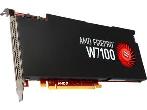 AMD FirePro W7100 100-505975 8GB 256-bit GDDR5 PCI Express 3.0 x16 CrossFire Supported Full height/full length Video Cards - Workstation
